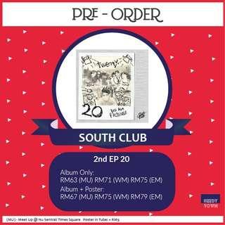 (PRE-ORDER) SOUTH CLUB - 2nd EP 20