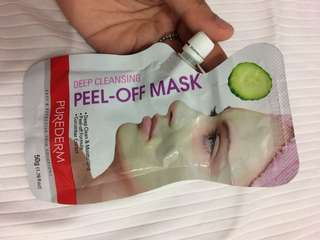 Peel of mask