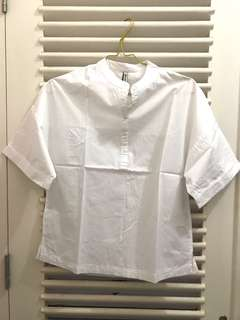 Stradivarius - white shirt