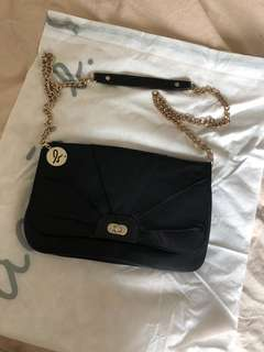 Agnes b handbag (clutch and shoulder bag two-way)