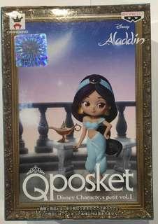 Q posket aladdin 全新 行版 阿拉丁 茉莉公主