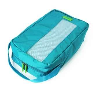 [限時爆血價]M Square 商務旅行鞋袋 M號(湖水藍款)