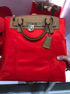 Brand New Original Michael Kors Sophisticated in Red bag