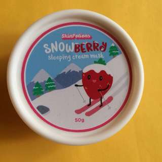 Skin Potions Snowberry Cream Sleeping Mask