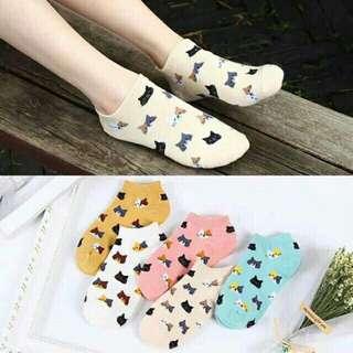 B1G1 Cute Cat Ankle Socks