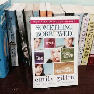 Novel Something Borrowed