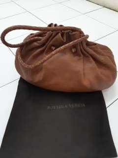 Bottega veneta brown hobo bag