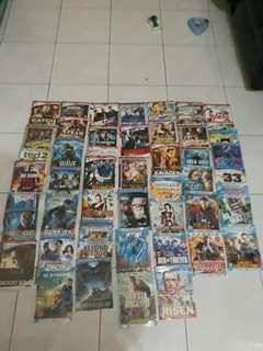 Koleksi kaset DVD Action barat