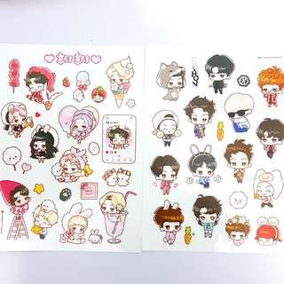 EXO Sehun Stickers Set
