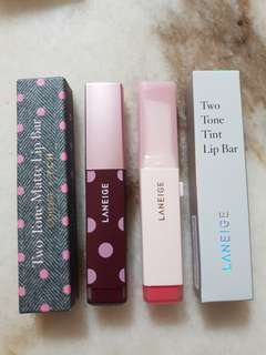 🚚 BNIB Laneige Two Tone Lip Bar