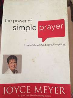 The Power of Simple Prayer - Joyce Meyer