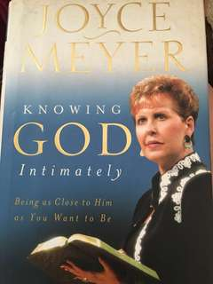 Knowing God Intimately - Joyce Meyer