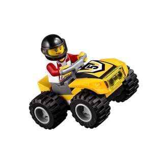 Lego 60148 City: ATV Race Team - ATV Female Driver & Yellow Off-Road Vehicle