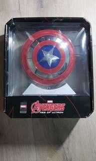 Captain America 藍芽播放器連充電器