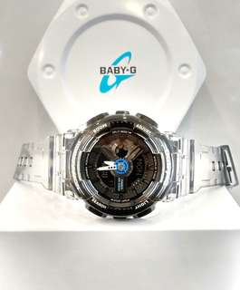 * FREE DELIVERY * Brand New 100% Authentic Casio BabyG Jelly Baby G Casual Watch Baby-G BA-110JM-1ADR