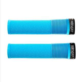 🆕! DMR MTB Race Blue Lock on Grips  #OK