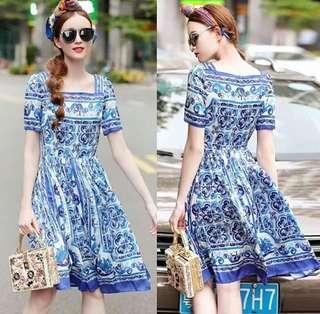 Dolce & Gabban (D&G) Inspired Dress