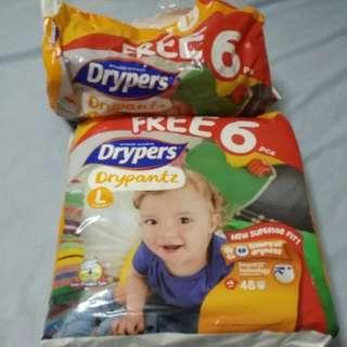 Drypers Drypantz L