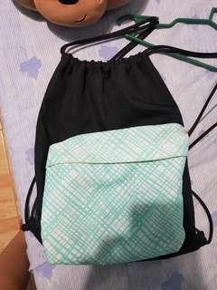 String bag with big pocket