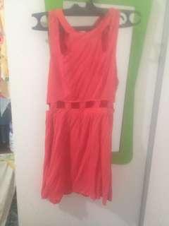 Dress bolong di pinggang sexy