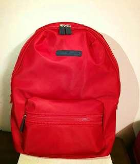 Tommy hilfiger backpack red color