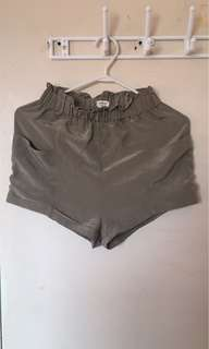 Wilfred Satin Silk Shorts
