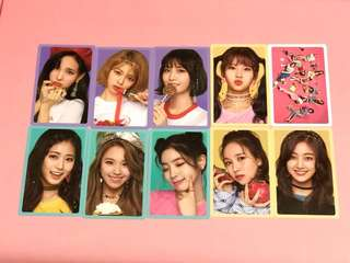 TWICE What Is Love? Photocard Yellow