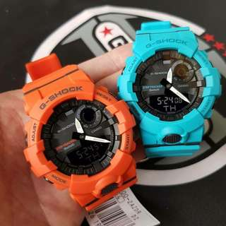 🚚 COUPLE💝PAIR SET in GSHOCK RUNNING & STEP-TRACKER 200M DIVER WIRELESS BLUETOOTH SMARTPHONE LINK CASIO WATCH in LATEST G-SHOCK be ABSOLUTELY TOUGHNESS than BEFORE : Best For Most Rough Users & Unisex : GBA-800-8ADR / GBA800 / GA800 / GA-800