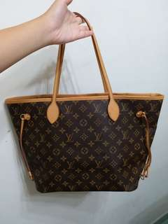 全新LV Neverfull MM手袋