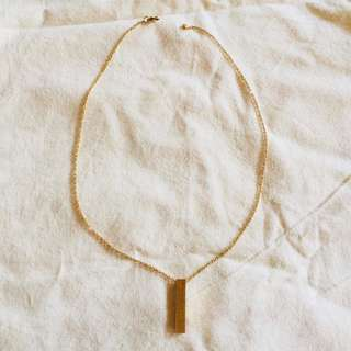 PURE STAINLES GOLD NECKLACE