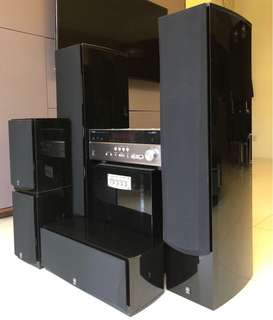 Yamaha Home Theatre Entertainment system for sale
