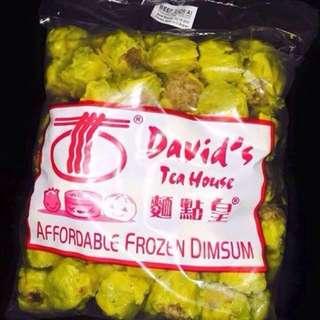Davids's Tea House Dimsum Buy 3 for 150 each less 20 pesos