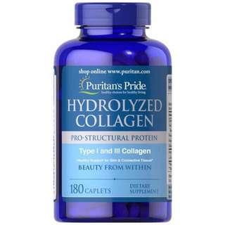 Puritan's Pride Hydrolyzed Collagen 1000mg