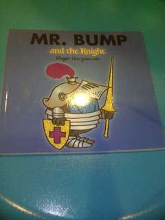 Mr. Bump and the knight book