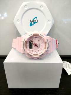 * FREE DELIVERY * Brand New 100% Authentic Casio GShock Mini Step Tracker In Pink GMAS-130-4ADR