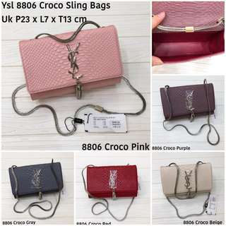 VERY RECOMENDED !!! MUST HAVE!!!! YSL SLING BAG TAS IMPORT WANITA. GRAB IT FAST SBLM SOLD OUT