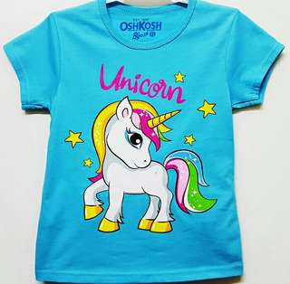 KAOS ANAK UNICORN 7-10