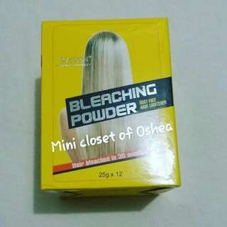 Buy bleaching powder set get free 1minute treatment!