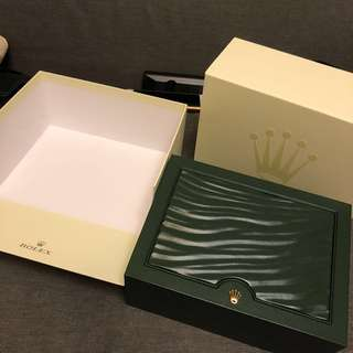 [大盒] 勞力士 Rolex oyster 錶盒 watch box 大 size 大盒