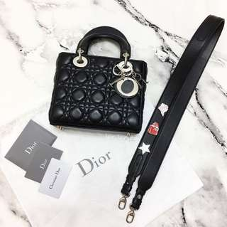 DIOR My Lady Dior Bag with Charms