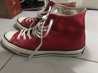 Converse 1970s Red Crimson size 11/45
