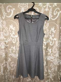 Gray cocktail dress (S - M)