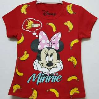 KAOS ANAK MINNIE 7-10