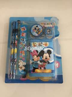 Mickey unisex wallet stationary packages- preschool party goodies favors, goodie bag packages
