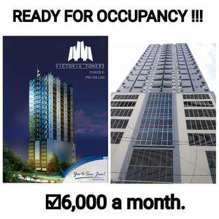 6,0000 per month! Ready for occupancy units.