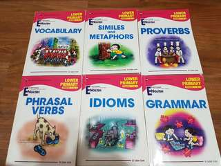 Assorted English Lower Primary Books