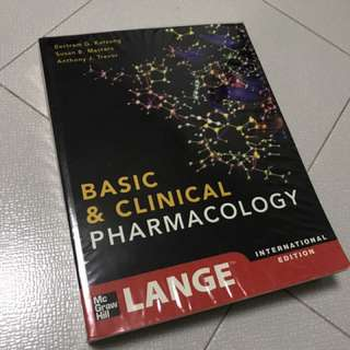 Basic and clinical pharmacology - katzung