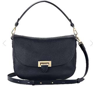 ASPINAL OF LONDON Letterbox slouchy leather saddle bag