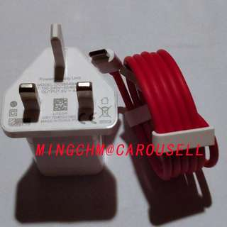 OnePlus (Dash) Fast Charge Power Adapter with Type-C Cable
