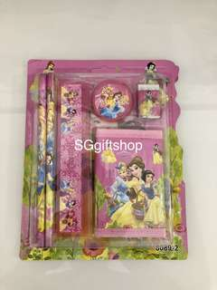 Princess theme wallet stationary packages- children goodies bag, goodie bags gift